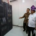 Rudiantara Cek Kesiapan Operasi Palapa Ring Paket Barat
