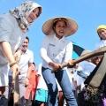 Dorong Kesejahteraan Masyarakat, Menteri BUMN Kunjungi Padat Karya Tunai di Klaten