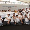 Perkuat Solidaritas, BUMN Bedah Rumah dan Salurkan Dana Rp13 miliar di Family Gathering BUMN 2018