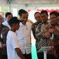 Presiden Joko Widodo Resmikan Kewirausahaan Pertanian dan Digitalisasi Pertanian di Kabupaten Indramayu