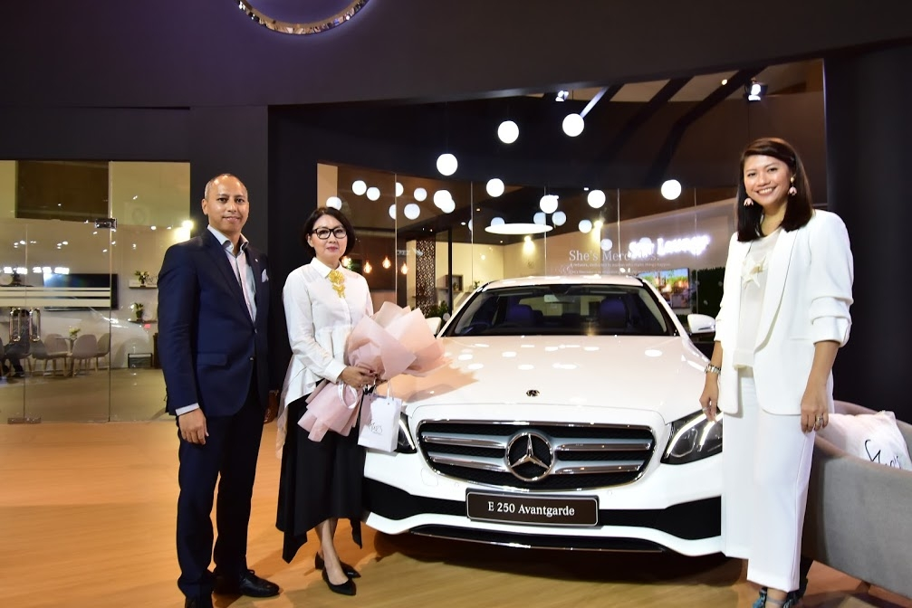 She's Mercedes At Indonesia International Motor Show (IIMS) 2018 Media Luncheon She's Mercedes: Inspirasi Dan Pemberdayaan Wanita
