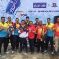 Surabaya Bhayangkara Samator bersama ISOPLUS Beri Coaching Clinic di Malang