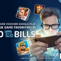 Makin Mudah Beli Kode Voucher Google Play di GO-BILLS