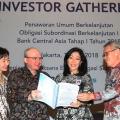 BCA Terbitkan Obligasi Subordinasi Berkelanjutan Tahap I Rp500 miliar