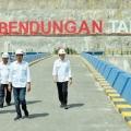Jokowi Resmikan Bendungan Tanju guna Perkuat Peran NTB sebagai Lumbung Pangan Nasional