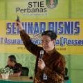 Jiwasraya Gelar Seminar Bisnis Di STIE Perbanas Surabaya