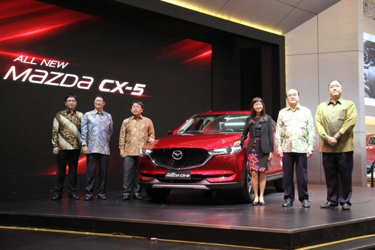 All-New Mazda CX-5 Resmi Diluncurkan PT Eurokars Motor Indonesia di 25th Gaikindo Indonesia International Auto Show 2017