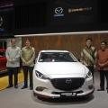 PT Eurokars Motor Indonesia, Menampilkan Model Unggulan Mazda di Indonesia International Motor Show 2018