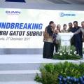 PT PP (Persero) Groundbreaking Menara BRI Gatot Subroto