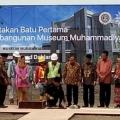 PT PP (Persero) Peletakan Batu Pertama Proyek Museum Muhammadiyah