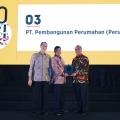 PT PP (Persero) Raih Best of The Best Companies Award 2017 dari Majalah Forbes Indonesia
