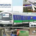 Dua Belas Kereta MRT Jakarta Tiba di Jakarta
