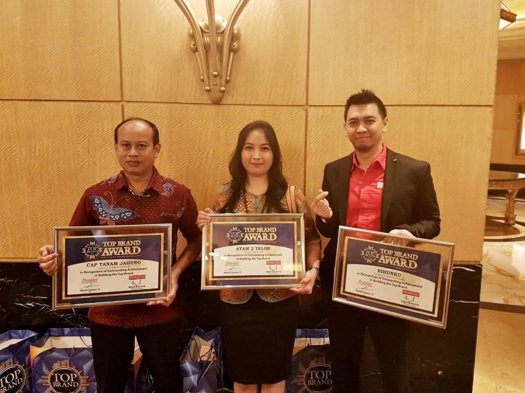 3 Merek dari TPSF Raih Top Brand Award 2017