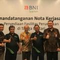 Intiland, Grab Indonesia, dan BNI Syariah Jalin Sinergi Penyediaan Fasilitas Perumahan