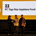 PT Tiga Pilar Sejahtera Food Tbk (TPSF) Kembali Raih Best of The Best Companies