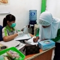 TPS Grompol Adakan Pap Smear Untuk Deteksi Dini Kanker Serviks