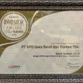 bank bjb Terpilih Bank Terbaik Tahun 2018 Versi Majalah Investor