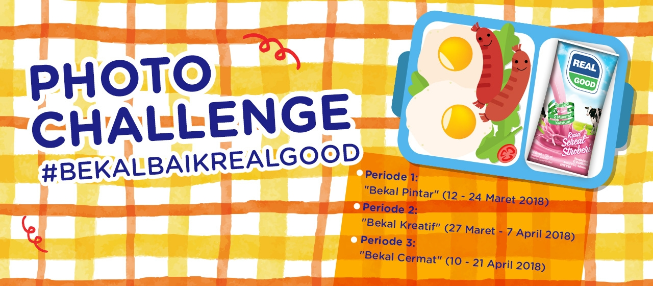 Photo Challenge #BekalBaikRealGood Digelar