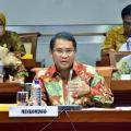 Menkominfo Sampaikan Penanganan Akses Telekomunikasi di Lombok ke Komisi I DPR