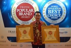 Empat Kali, Kedai Kopi Kapal Api Raih Indonesia Digital Popular Brand Award
