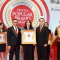 Rucika Kembali Raih Penghargaan Indonesia Digital Popular Brand Award 2018