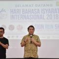 Populerkan Bahasa Isyarat, Kominfo Wajibkan Siaran Berita Gunakan Bisindo