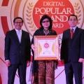 Transformasi Maksimal, Kiky Raih Penghargaan Indonesia Digital Popular Brand Award 2018