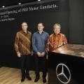 PT Panji Rama Otomotif, Dealer Resmi Mercedes-Benz, Resmikan Dua Showroom Baru