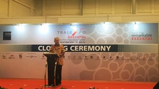 Trade Expo Indonesia 2018 Sukses Bukukan Rp126, 77 Triliun