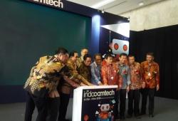 Pameran Indocomtech 2018 Resmi Dibuka Hari Ini