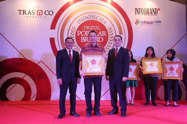 Insto Raih Penghargaan Indonesia Digital Popular Brand Award 2018