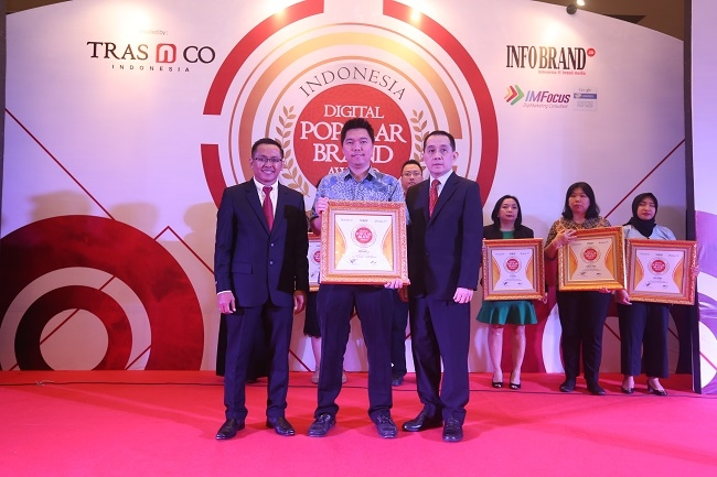 Mantap di Digital, Blanco Raih Penghargaan Indonesia Digital Popular Brand Award 2018