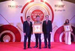 Penghargaan  Indonesia  Digital Populer Brand  Award 2018 Untuk  GS Astra