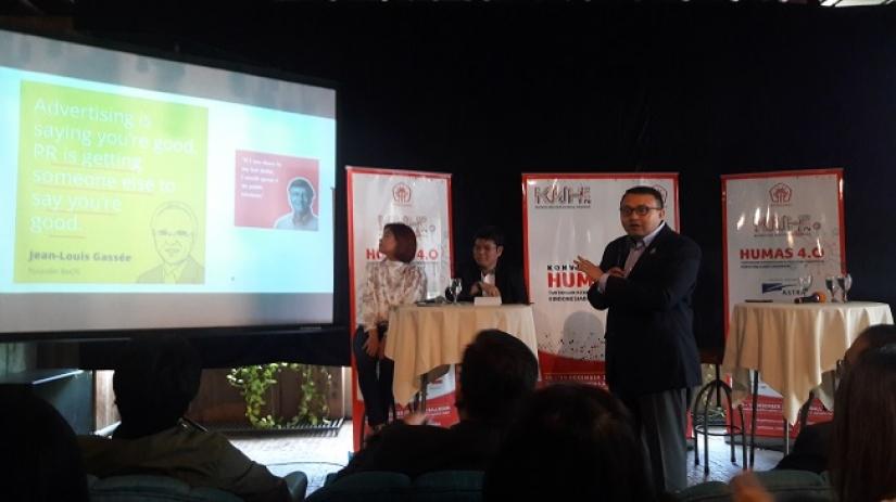 KNH 2018 Usung Tema 'Humas 4.0 Tantangan Kebangsaan & Reputasi Indonesia