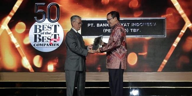 Bank BRI Raih Penghargaan Best of the Best