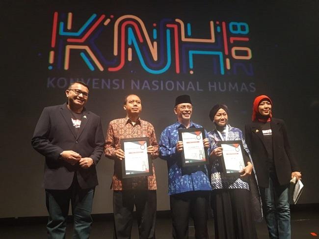 Empat Tokoh Publik Raih Penghargaan Perhumas 2018