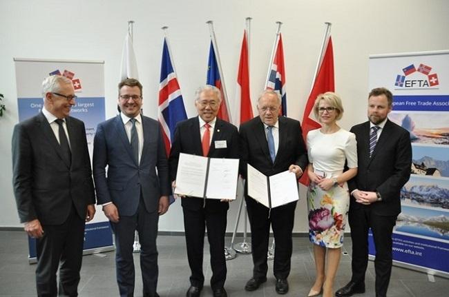 Indonesia-EFTA Tandatangani Perjanjian Kemitraan Ekonomi Komprehesif