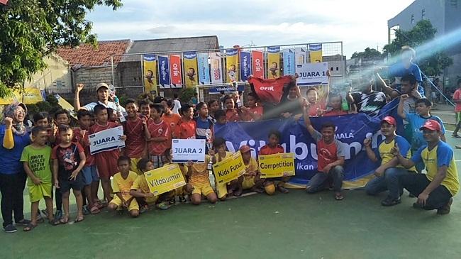 Turnamen Futsal Anak-Anak  Vitabumin Cup