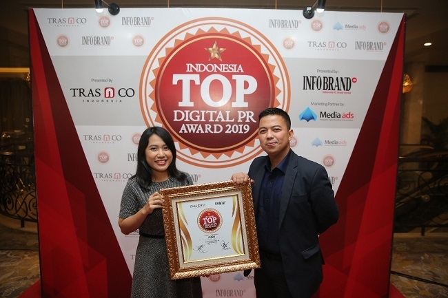 Mitsubishi Fuso Raih Penghargaan Indonesia TOP Digital PR Award 2019
