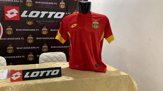 Brand Lotto Jadi Apparel Klub Bhayangkara FC di Musim 2019
