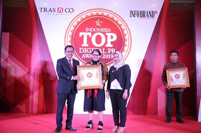 McD Raih Penghargaan Indonesia TOP Digital PR Award 2019