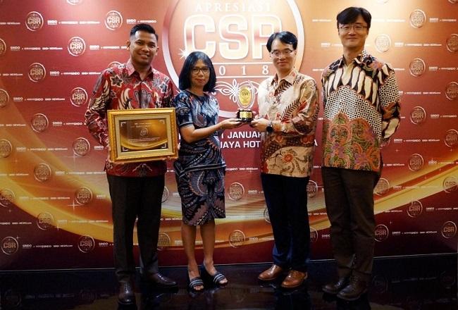Hanwha Life Insurance Raih Penghargaan untuk Urusan Pemberdayaan Masyarakat