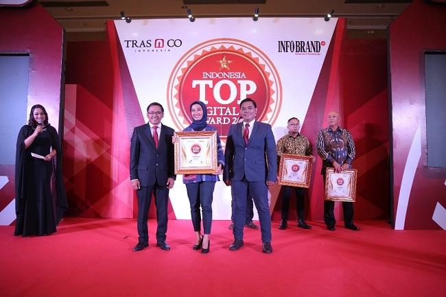BRIsyariah Raih Penghargaan Indonesia TOP Digital PR Award 2019