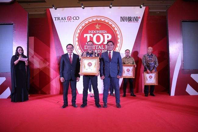 Raih Penghargaan Indonesia TOP Digital PR Award 2019, JNE Semakin Termotivasi