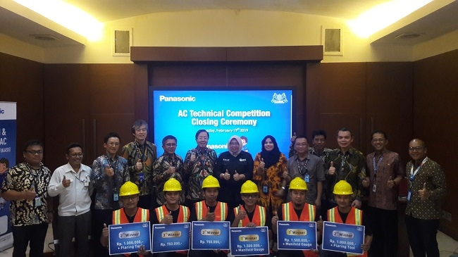 Panasonic Targetkan 20.000 Teknisi AC Profesional pada 2020