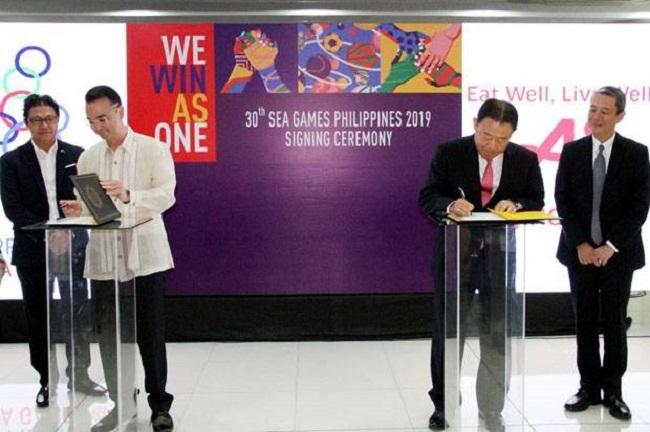 Resmi, Ajinomoto Co Jadi Sponsor Utama SEA Games Ke-30 di Filipina