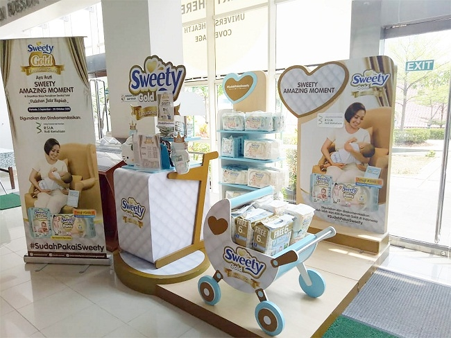 SWEETY Is A Brand Champion Baby Diaper