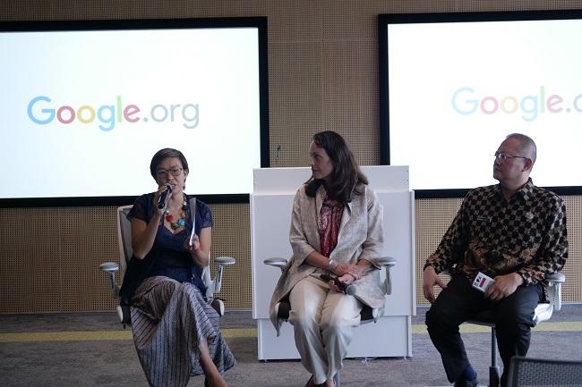 Google.org Menyumbangkan US$1 Juta untuk Risiko Bencana di Indonesia