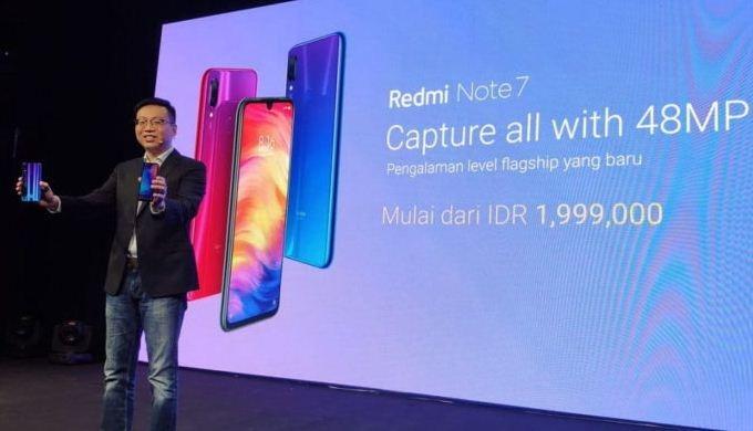 Xiaomi Resmi Luncurkan Redmi Note 7 di Indonesia, Ini Harganya!
