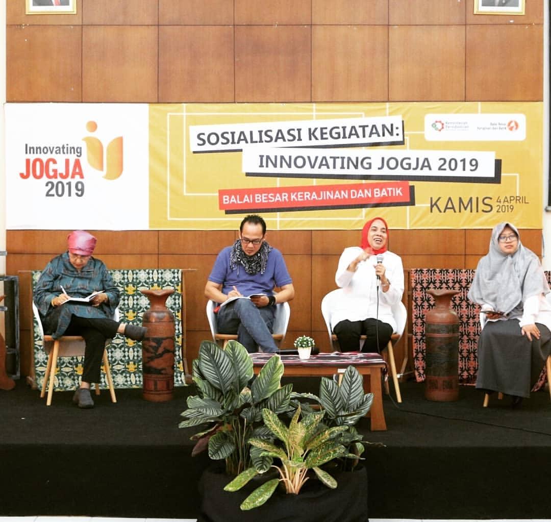 Innovating Jogja 2019, Mendorong Inovasi Produk Lokal Berdaya Saing Global